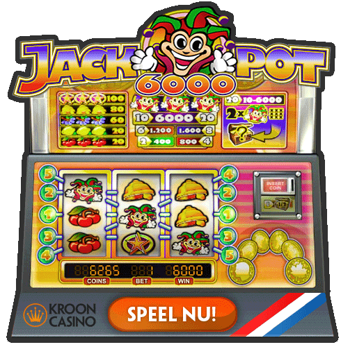 Speel Jackpot 6000 bij Kroon Casino